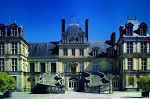 Château de Fontainebleau - Escalier en fer à cheval