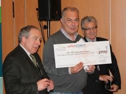 Photo remise de prix à la Société AMPIE