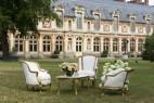 Espace détente créé au Château de Fontainebleau