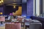 Salle de restaurant à l'hôtel Mercure Château de Fontainebleau