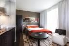 Chambre à l'hôtel Hipark Serris-Val d'Europe