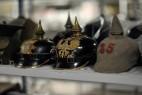 Collection d'objet au Musée de la Grande Guerre