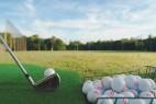 Activité sportive au Crécy Golf