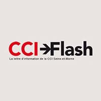 Logo CCI FLASH Lettre d'information CCI Seine et Marne