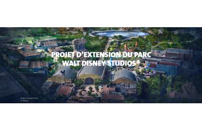 Projet d'extension du parc Walt Disney Studios®