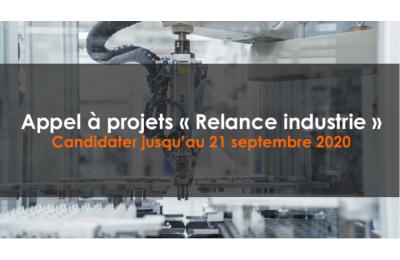 Appel à projets - relance industrie