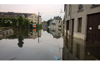 Inondations Souppes-sur-Loing